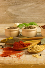 diffrent spices