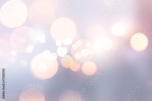 art Christmas holiday light poster