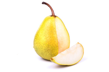 Pear and piece