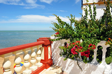 Playa de Chipiona, provincia de Cádiz, Andalucía, España