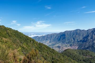 Mountain landscape. Madeira island, Portugal