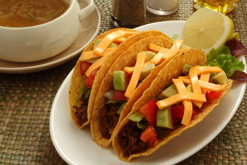 タコス トルティーヤ メキシコ料理