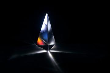 glass prima with starlight