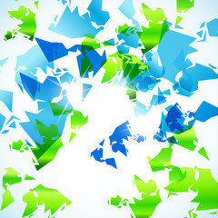 abstract background: map