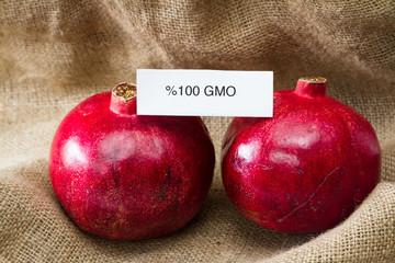 GMO pomegranates