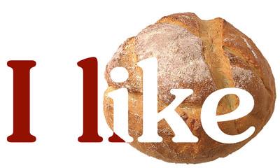 Mi piace il pane