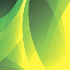 Vector abstract green eco background