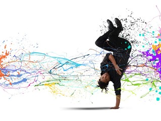 Capoeira dance