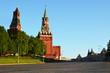 Спасская башня. Красная площадь. Москва