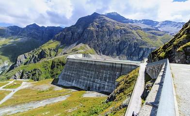 Grande Dixence dam, Valais, Switzerland