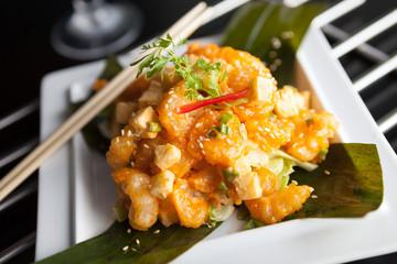 Tasty Thai Shrimp Plate