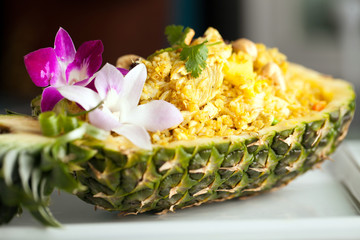 Yummy Thai Pineapple Fried Rice