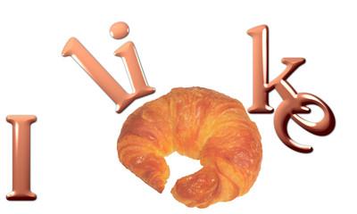 Mi piace il croissant