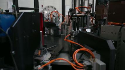 production machine time lapse, mechanism