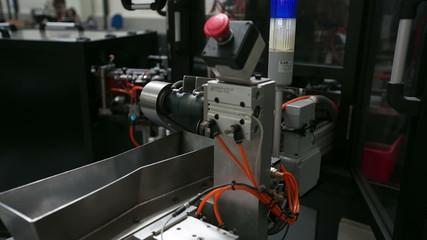 production machine time lapse