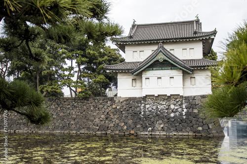 Chiyoda Kokyo (Imperial Palace) in Tokyo, Japan