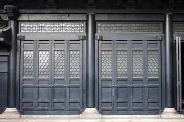Yushima Seido (Yushima sacred hall) shrine in Tokyo - Japan