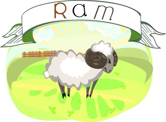 Ram with title