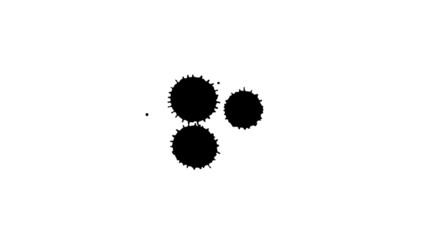 Smudges Ink Drops 24