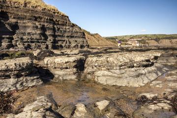Rocks at Robin Hood's Bay, Yorkshire