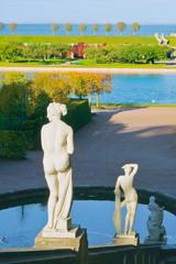 Peterhof Park near St.-Petersburg, Russia