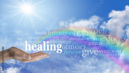 Wysyłam Rainbow Healing