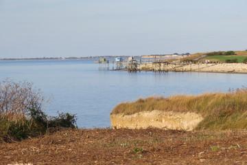 Charente-Maritime - Marsilly - Côte vue du chemin du littoral