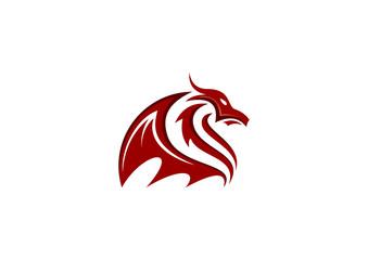 Abstract animal horse icon Fire symbol cesh Logo Vector.