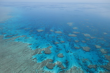 Great Barrier reef Whitsunday islands