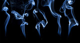 incense smoke abstract