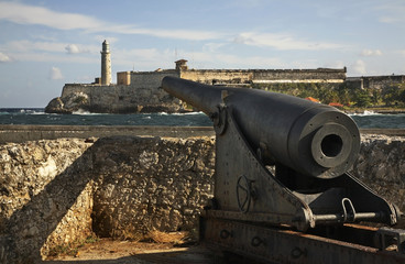 Morro fortress in Havana. Cuba
