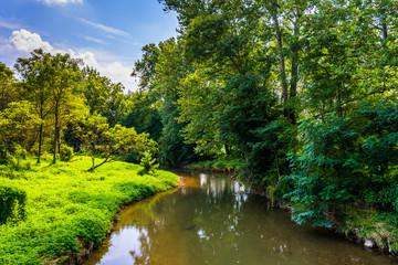 View of Codorus Creek, in York County, Pennsylvania.