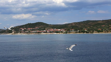 Ouranoupoli on Athos peninsula.