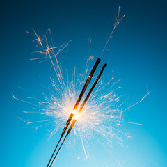 happy new year Sparklers