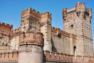 Castle of La Mota in Valladolid