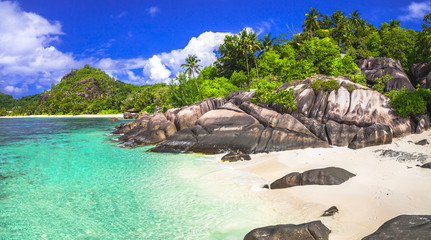 breathtaking beaches of Seychelles islands