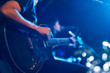 Guitarist on stage for background, soft and blur concept - 75112776