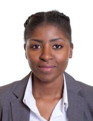 Portrait einer modernen Frau aus Afrika