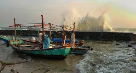 Big wave attrack huahin, thailand