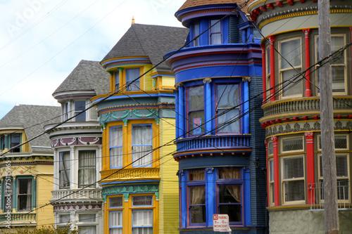 Foto op Canvas San Francisco hashbury street, San Francisco