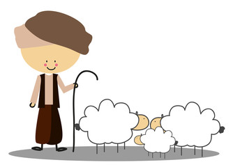 Doodle shepherd - Full Color