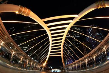 bangkok bridge downtown