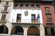 Coreche Square, Graus, Huesca, Spain