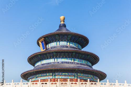 Foto op Aluminium Beijing Temple of heaven in Beijing
