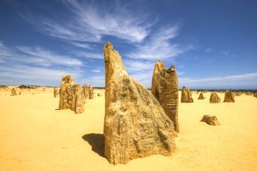 Pinnacles Desert at Nambung National Park, Western Australia
