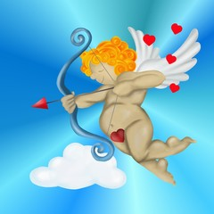 cupid of love for valentines