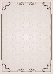Vector ornate frame