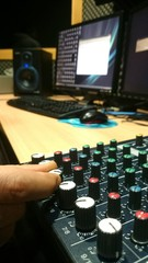 Knobs de mesa de sonido