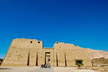 Medinet Habu Temple Egypt