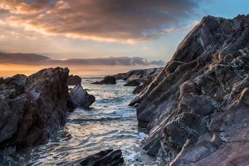 Rocky Cornwall Coast